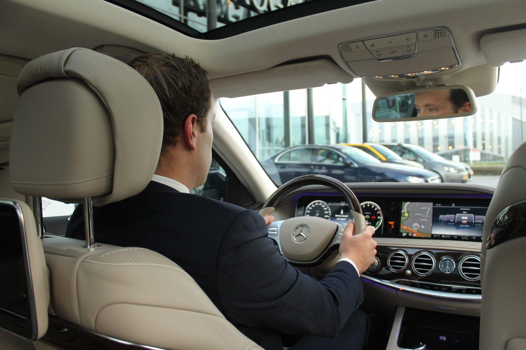 Mercedes S Klasse Euro BOB Chauffeursdiensten